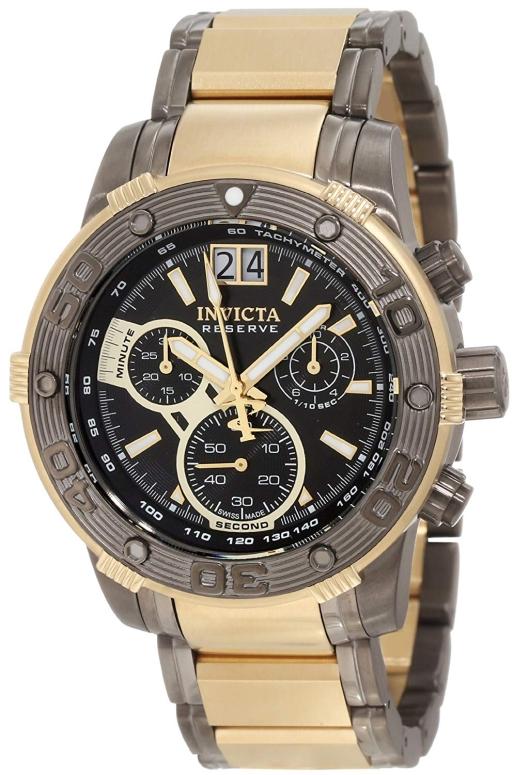 インビクタ Invicta インヴィクタ 男性用 腕時計 メンズ ウォッチ リザーブ reserve クロノグラフ ブラック 10592 送料無料 【並行輸入品】