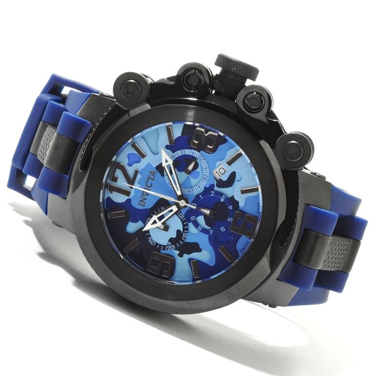 インビクタ Invicta インヴィクタ 男性用 腕時計 メンズ ウォッチ クロノグラフ ブルー 11675 送料無料 【並行輸入品】