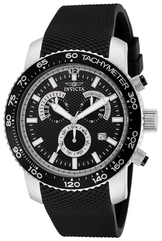 インビクタ Invicta インヴィクタ 男性用 腕時計 メンズ ウォッチ クロノグラフ ブラック 11291 送料無料 【並行輸入品】