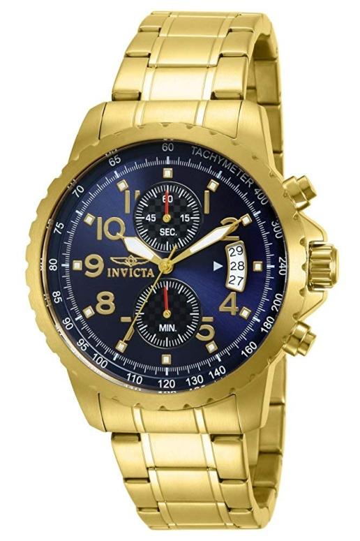 インビクタ Invicta インヴィクタ 男性用 腕時計 メンズ ウォッチ クロノグラフ ブルー 13785 送料無料 【並行輸入品】