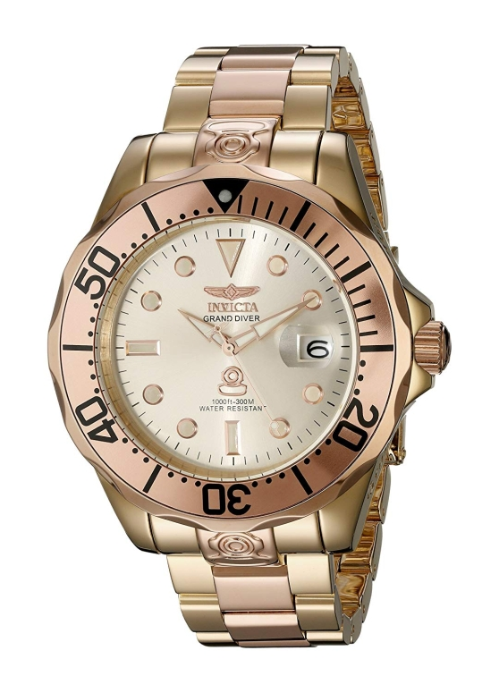 インビクタ Invicta インヴィクタ 男性用 腕時計 メンズ ウォッチ ゴールド 16039 送料無料 【並行輸入品】