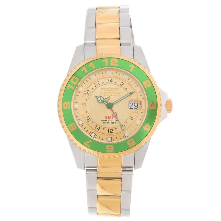 インビクタ Invicta インヴィクタ 男性用 腕時計 メンズ ウォッチ ゴールド 18245 送料無料 【並行輸入品】