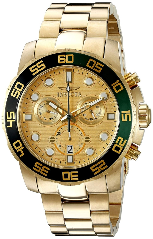 インビクタ Invicta インヴィクタ 男性用 腕時計 メンズ ウォッチ ゴールド 21554 送料無料 【並行輸入品】