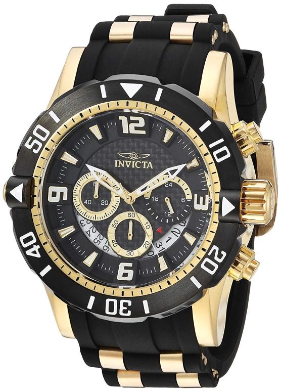インビクタ Invicta インヴィクタ 男性用 腕時計 メンズ ウォッチ ブラック 23702 送料無料 【並行輸入品】