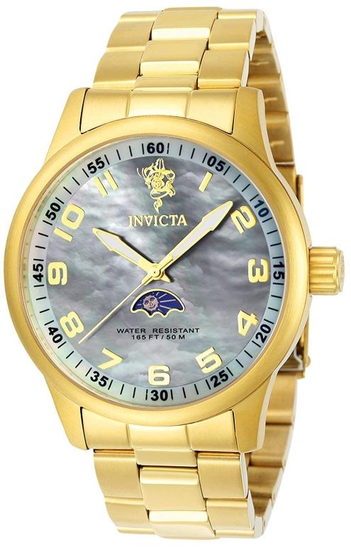 インビクタ Invicta インヴィクタ 男性用 腕時計 メンズ ウォッチ グレー 23827 送料無料 【並行輸入品】
