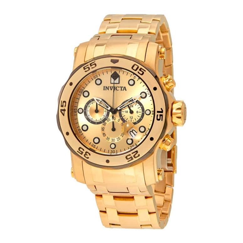 インビクタ Invicta インヴィクタ 男性用 腕時計 メンズ ウォッチ クロノグラフ ゴールド 23670 送料無料 【並行輸入品】