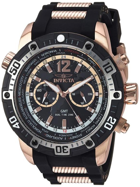 インビクタ Invicta インヴィクタ 男性用 腕時計 メンズ ウォッチ ブラック 24582 送料無料 【並行輸入品】