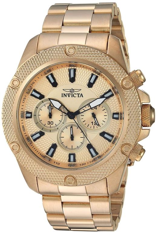 インビクタ Invicta インヴィクタ 男性用 腕時計 メンズ ウォッチ ゴールド 22720 送料無料 【並行輸入品】