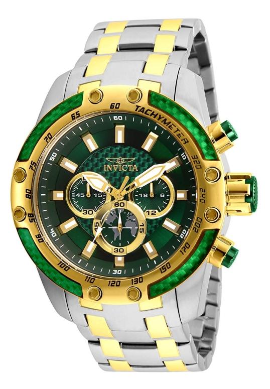 インビクタ Invicta インヴィクタ 男性用 腕時計 メンズ ウォッチ グリーン 25948 送料無料 【並行輸入品】