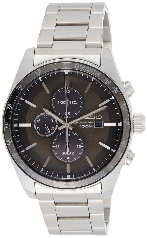 セイコー SEIKO 男性用 腕時計 メンズ ウォッチ クロノグラフ グレー SSC715P1 送料無料 【並行輸入品】