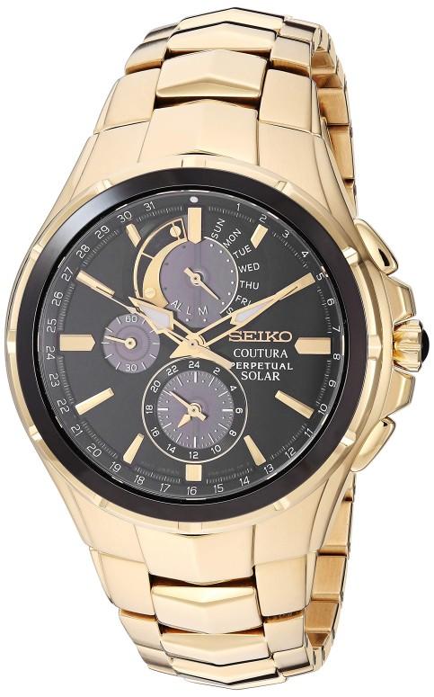 セイコー SEIKO 男性用 腕時計 メンズ ウォッチ ブラック SSC700 送料無料 【並行輸入品】