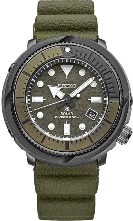 セイコー SEIKO 男性用 腕時計 メンズ ウォッチ クロノグラフ グリーン SNE535 送料無料 【並行輸入品】