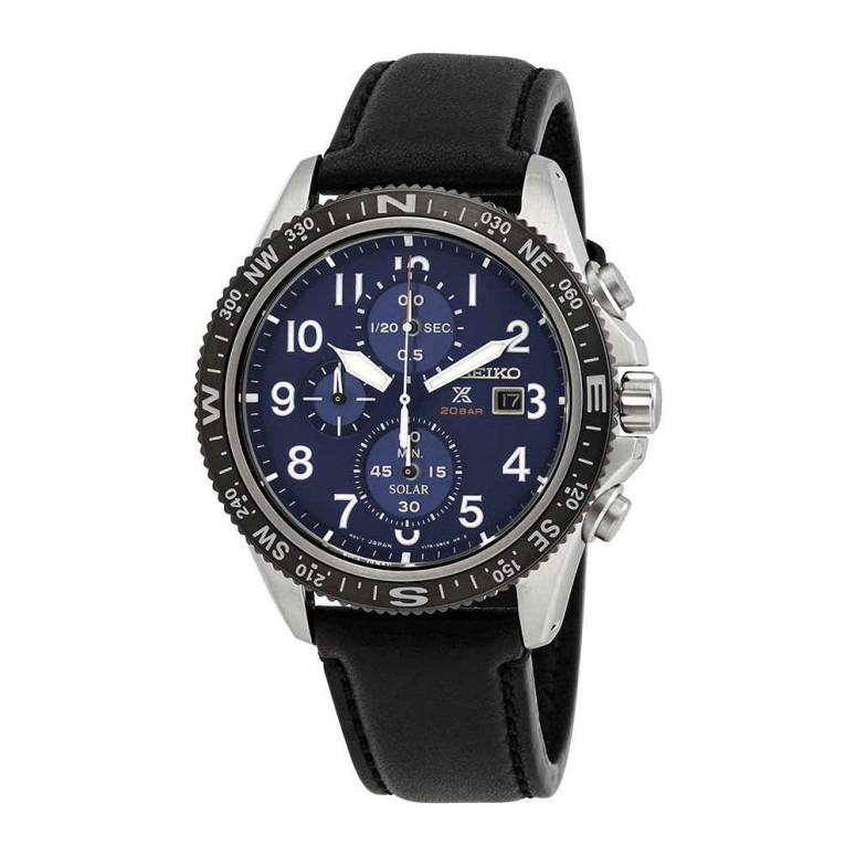 セイコー SEIKO 男性用 腕時計 メンズ ウォッチ クロノグラフ ブルー SSC737P1 送料無料 【並行輸入品】