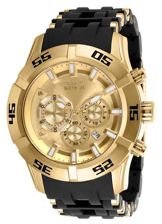 インビクタ Invicta インヴィクタ 男性用 腕時計 メンズ ウォッチ ゴールド 26534 送料無料 【並行輸入品】