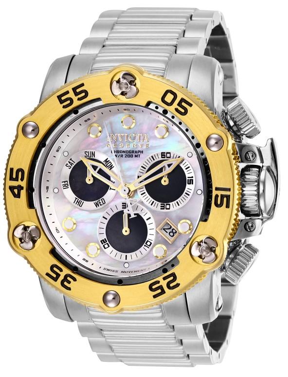 インビクタ Invicta インヴィクタ 男性用 腕時計 メンズ ウォッチ リザーブ reserve ホワイト 28546 送料無料 【並行輸入品】
