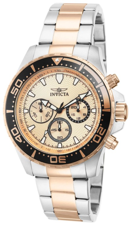 インビクタ Invicta インヴィクタ 男性用 腕時計 メンズ ウォッチ プロダイバーコレクション Pro Diver Collection クロノグラフ ピンク 12917 送料無料 【並行輸入品】