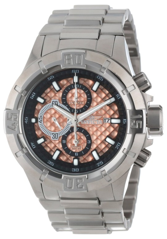 インビクタ Invicta インヴィクタ 男性用 腕時計 メンズ ウォッチ プロダイバーコレクション Pro Diver Collection クロノグラフ ピンク 12369 送料無料 【並行輸入品】