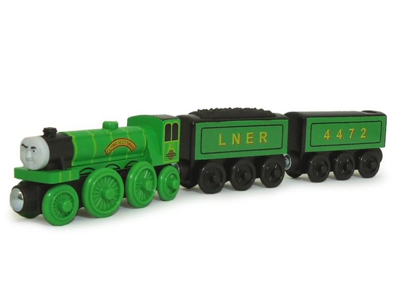トーマス 木製レール きかんしゃ フライングスコッツマン Fisher-Price Thomas & Friends Wooden Railway, Flying Scotsman 送料無料 【並行輸入品】