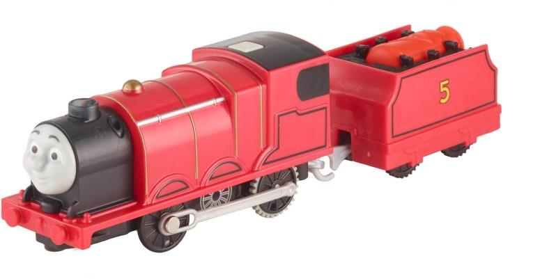 トーマス 木製レール きかんしゃ トラックマスター ジェームズ Fisher-Price Thomas & Friends TrackMaster, Real Steam James [Amazon Exclusive] 送料無料 【並行輸入品】