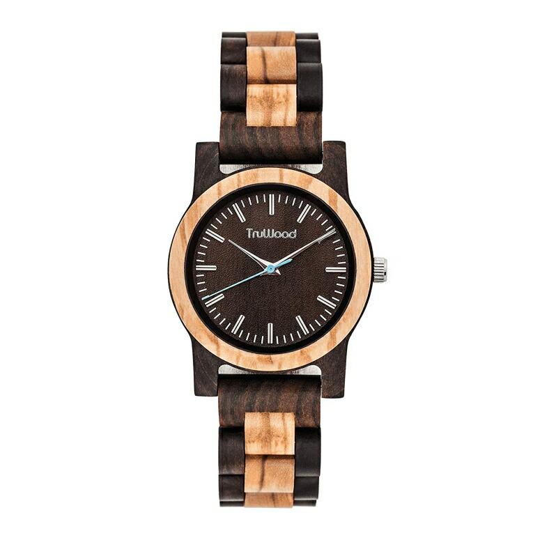 トゥルーウッド truwood ウッドウォッチ 木製腕時計 女性用 腕時計 レディース ウォッチ ブラウン 5060412388009 送料無料 【並行輸入品】