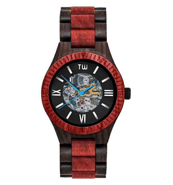 トゥルーウッド truwood ウッドウォッチ 木製腕時計 男性用 腕時計 メンズ ウォッチ ブラック 5060412391009 送料無料 【並行輸入品】