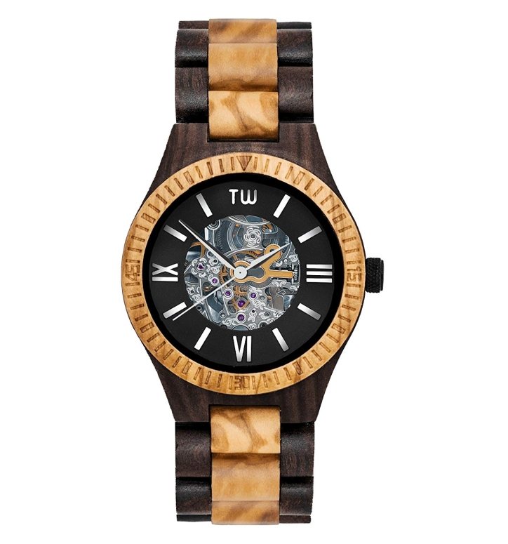 トゥルーウッド truwood ウッドウォッチ 木製腕時計 男性用 腕時計 メンズ ウォッチ ブラック 5060412390002 送料無料 【並行輸入品】