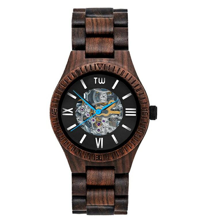 トゥルーウッド truwood ウッドウォッチ 木製腕時計 男性用 腕時計 メンズ ウォッチ ブラウン 5060412389006 送料無料 【並行輸入品】