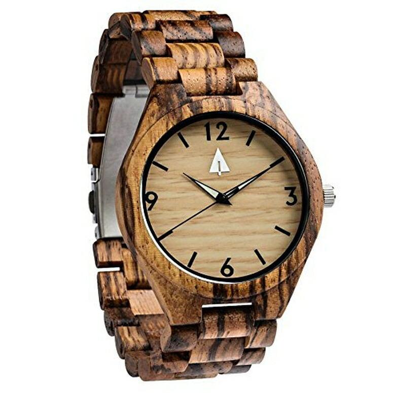 ツリーハット treehut ウッドウォッチ 木製腕時計 男性用 腕時計 メンズ ウォッチ ブラック HUT-4404 送料無料 【並行輸入品】