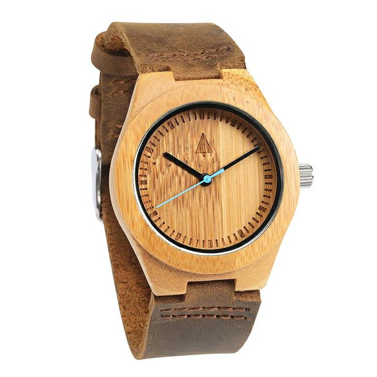ツリーハット treehut ウッドウォッチ 木製腕時計 男性用 腕時計 メンズ ウォッチ ブラウン HUT22-SS7 送料無料 【並行輸入品】