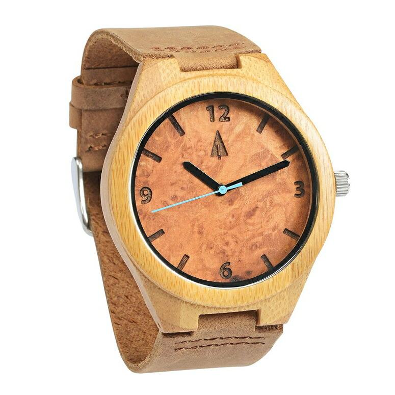 ツリーハット treehut ウッドウォッチ 木製腕時計 男性用 腕時計 メンズ ウォッチ ブラウン HUT-22-0087 送料無料 【並行輸入品】