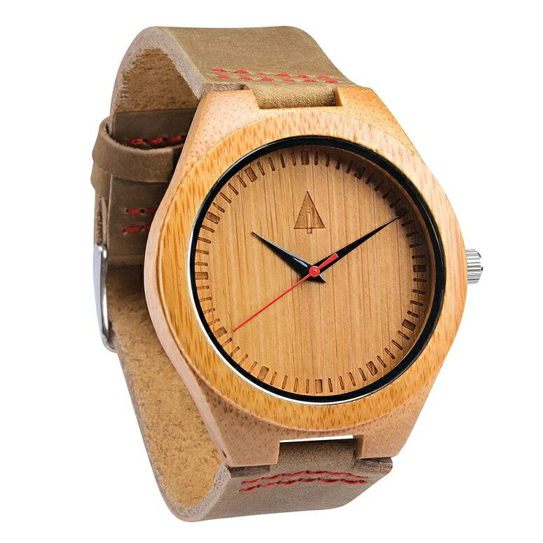 ツリーハット treehut ウッドウォッチ 木製腕時計 男性用 腕時計 メンズ ウォッチ ブラウン HUT11-009 送料無料 【並行輸入品】