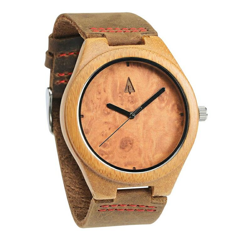 ツリーハット treehut ウッドウォッチ 木製腕時計 男性用 腕時計 メンズ ウォッチ ブラウン HUT-0089 送料無料 【並行輸入品】