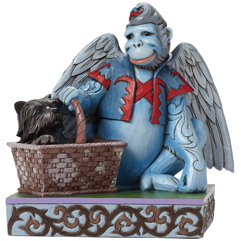 ジムショア Jim Shore for Enesco エネスコ ジム ショア オズの魔法使い ウィザード オブ オズ Winged Monkey with Toto フィギュア 置物 6 インチ 送料無料 【並行輸入品】