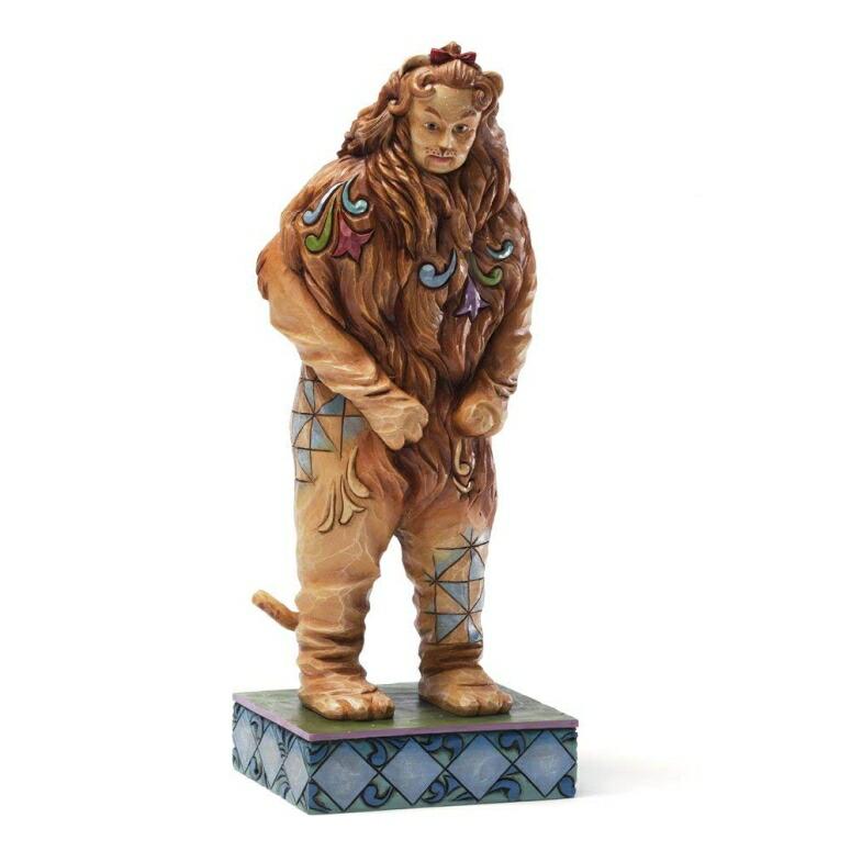 エネスコ ジム ショア オズの魔法使い ライオン ウィザード オブ オズ Enesco Jim Shore Wizard of Oz COWARDLY LION Figurine, 7.875-Inch フィギュア 置物 7.875 インチ 送料無料 【並行輸入品】