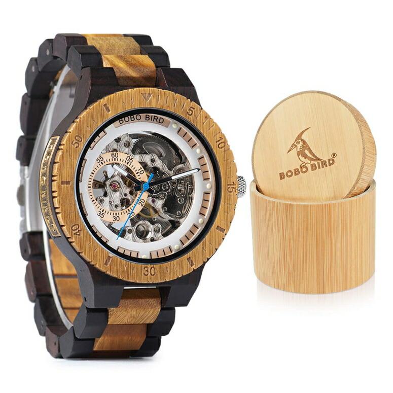 ボボバード BOBO BIRD ウッドウォッチ 木製腕時計 男性用 腕時計 メンズ ウォッチ ブラウン R05-1 送料無料 【並行輸入品】