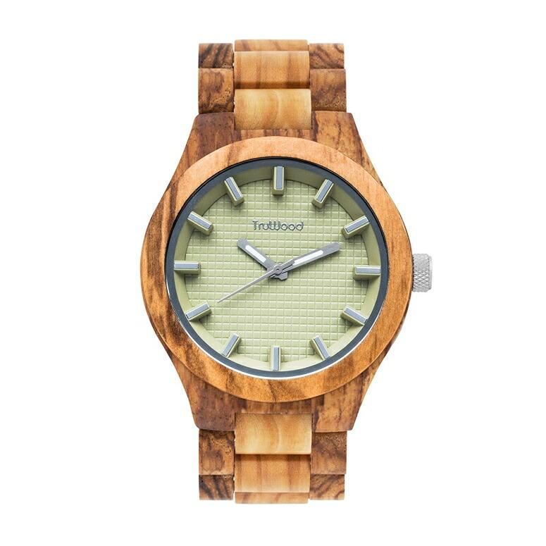トゥルーウッド truwood ウッドウォッチ 木製腕時計 男性用 腕時計 メンズ ウォッチ ベージュ 5060412406000 送料無料 【並行輸入品】