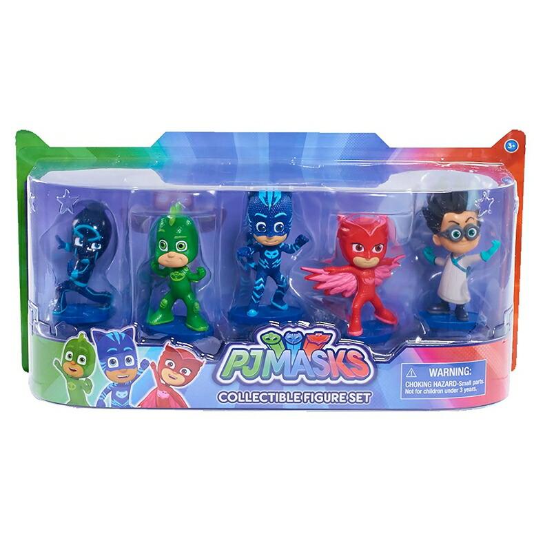 パジャママスク PJマスク フィギュア Just Play PJ Masks Collectible Figure Set (5 Pack) Styles may vary 送料無料 【並行輸入品】