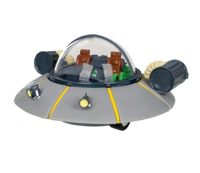 リック・アンド・モーティー おもちゃ フィギュア Rick and Morty: Rick's Car Spaceship Bank 送料無料 【並行輸入品】