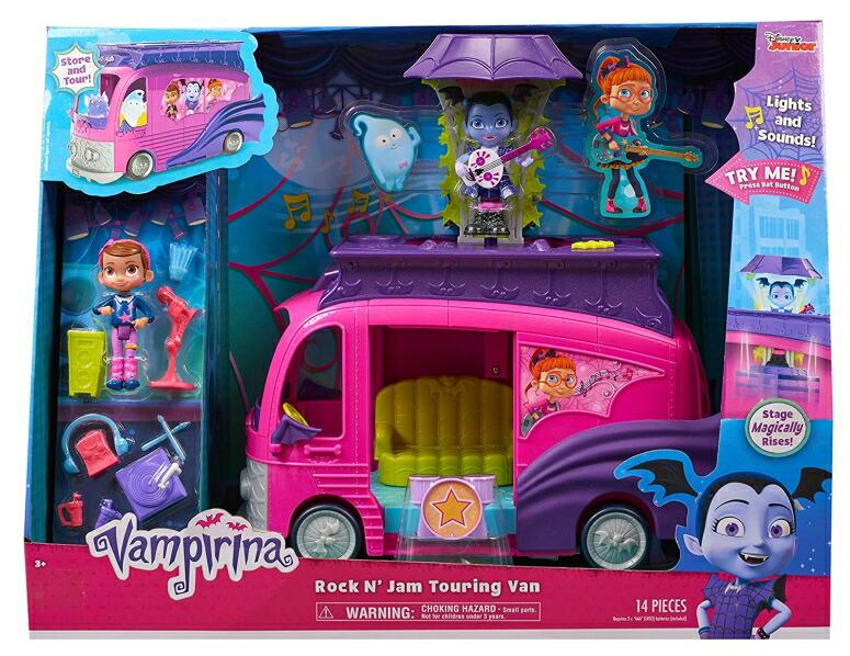 バンピリーナとバンパイアかぞく おもちゃ バンピリナ バンパイヤ ダンス ドラキュラ モンスター トランシルバニア Vampirina Rock N' Jam Touring Van Toy, Multicolor 78126 送料無料 【並行輸入品】