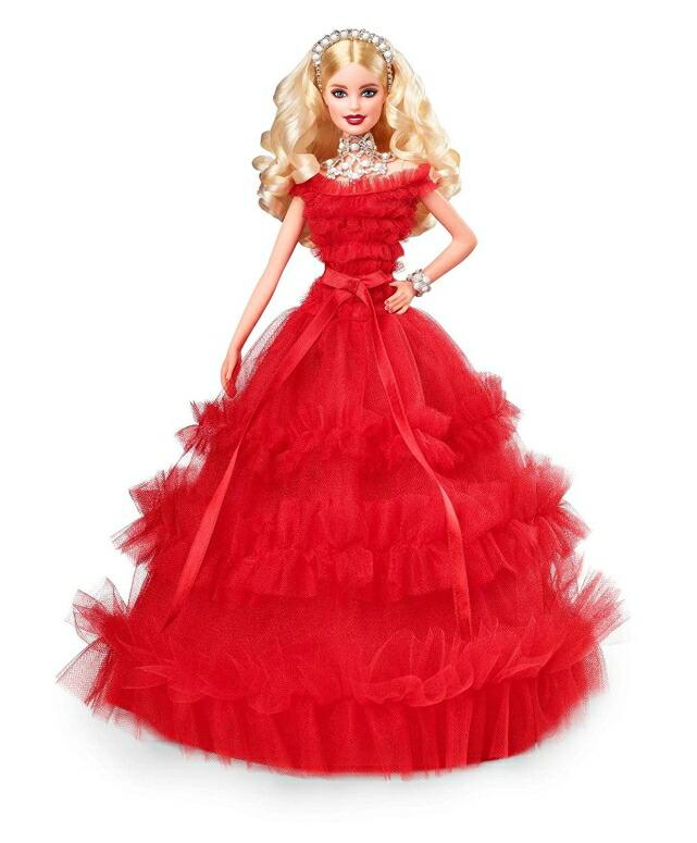 ホリデードール バービー 2018 Barbie 2018 Holiday Doll, Blonde 送料無料 【並行輸入品】