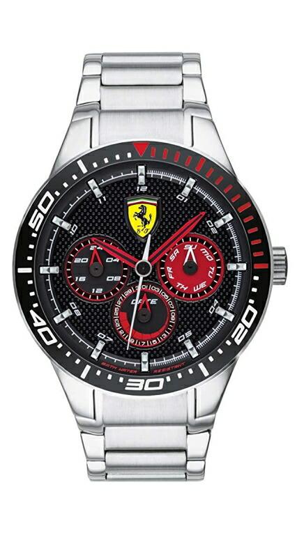 フェラーリ Ferrari 男性用 腕時計 メンズ ウォッチ ブラック 0830589 送料無料 【並行輸入品】