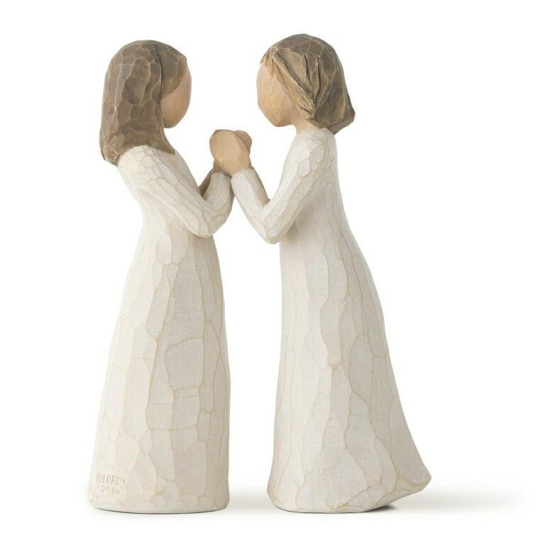 ウィローツリー Willow Tree Sisters by Heart, sculpted hand-painted figure 送料無料 【並行輸入品】