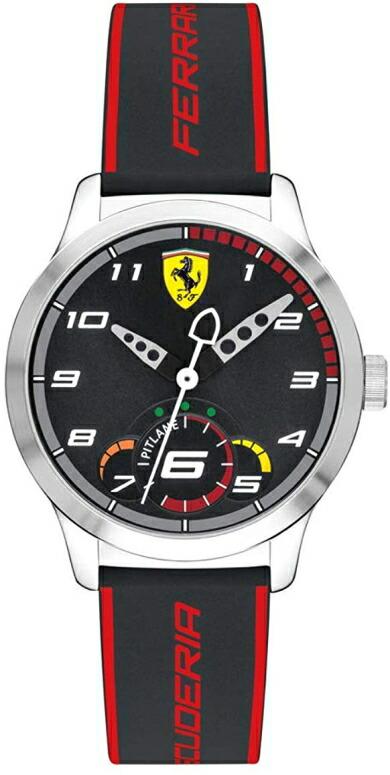 フェラーリ Ferrari 男性用 腕時計 メンズ ウォッチ ブラック 0860003 送料無料 【並行輸入品】