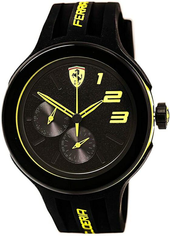 フェラーリ Ferrari 男性用 腕時計 メンズ ウォッチ ブラック 0830224 送料無料 【並行輸入品】