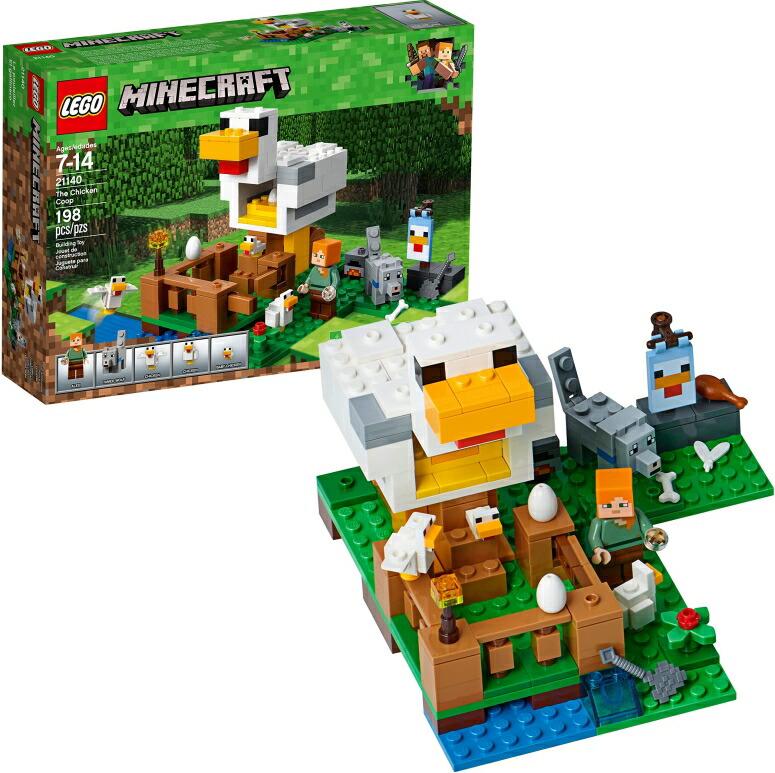 マイクラ レゴ おもちゃ LEGO Minecraft The Chicken Coop 21140 Building Kit (198 Pieces) 送料無料 【並行輸入品】