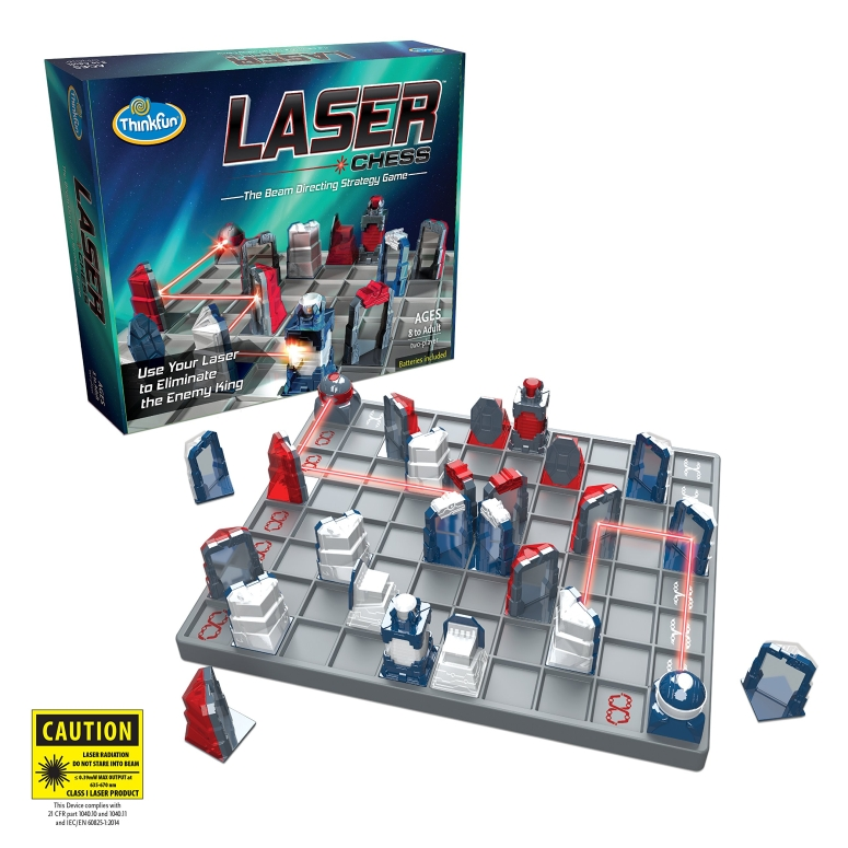 知育玩具 レーザーチェスゲーム ThinkFun Laser Chess Two Player Strategy Game and STEM Toy for Boys and Girls Age 8 and Up - MENSA Award Winner 送料無料 【並行輸入品】