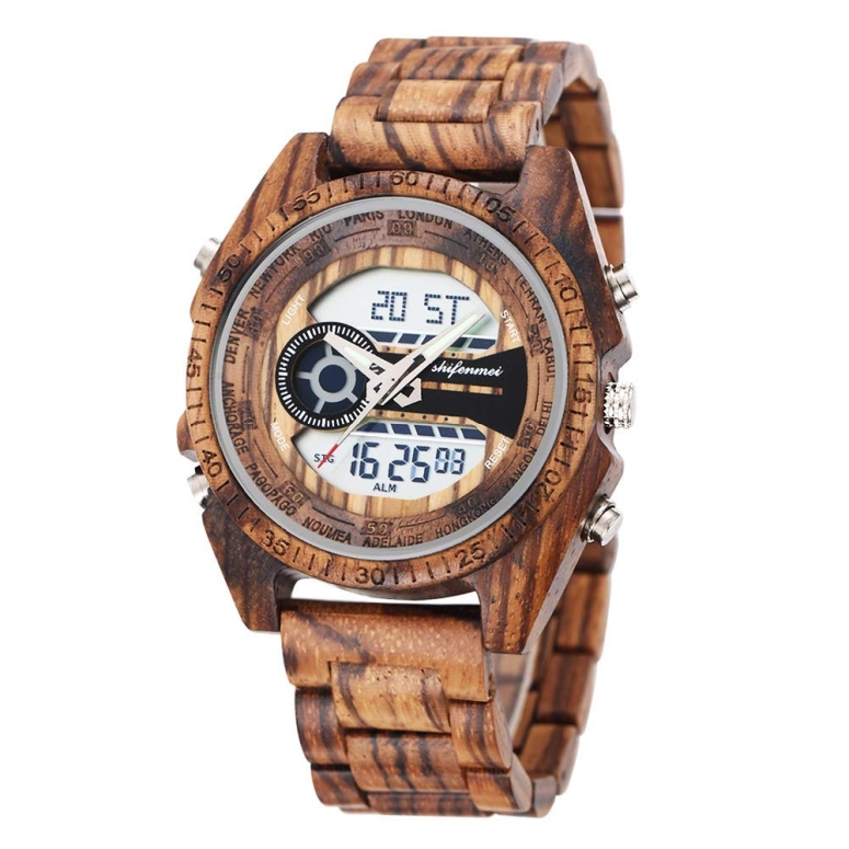 シフェンメイ shifenmei ウッドウォッチ 木製腕時計 女性用 腕時計 レディース ウォッチ マルチ BLS-S2139 送料無料 【並行輸入品】