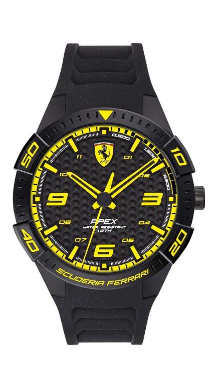 フェラーリ Ferrari 男性用 腕時計 メンズ ウォッチ ブラック 0830663 送料無料 【並行輸入品】