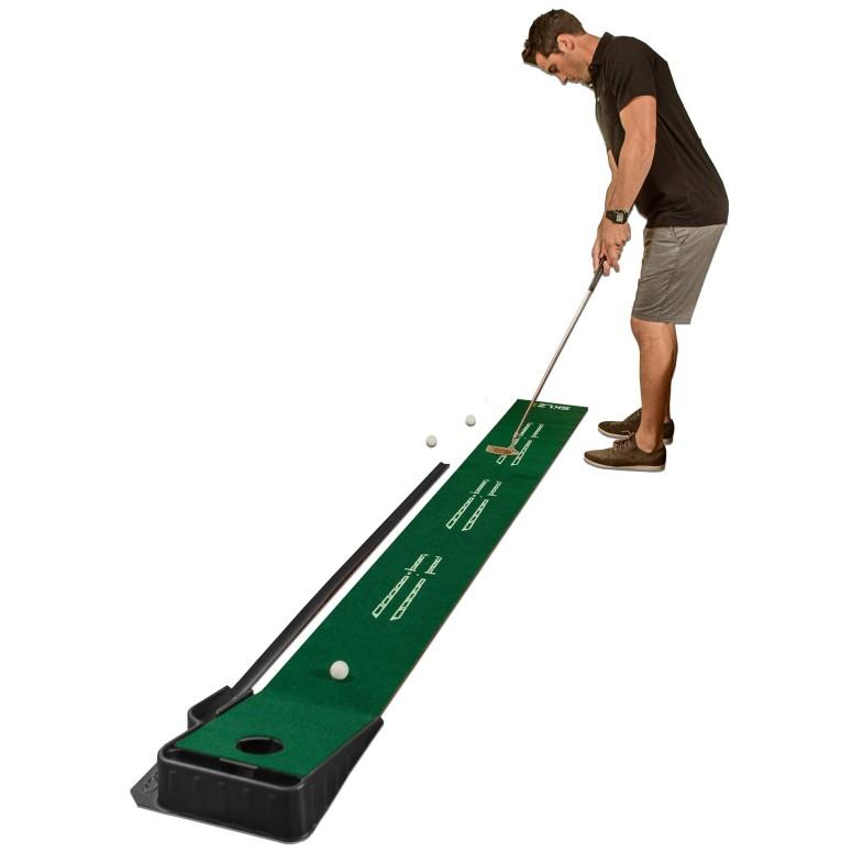 スキルズ 屋内用 パッティンググリーン SKLZ Accelerator Pro Indoor Putting Green with Ball Return, 9 feet x 16.25 inches 送料無料 【並行輸入品】