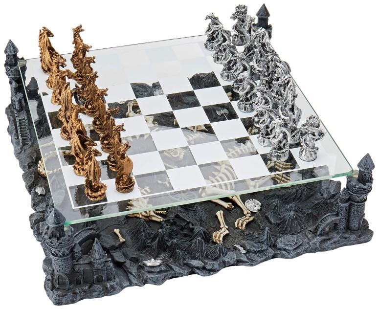 ドラゴンチェスセット Dragon Chess Set 送料無料 【並行輸入品】
